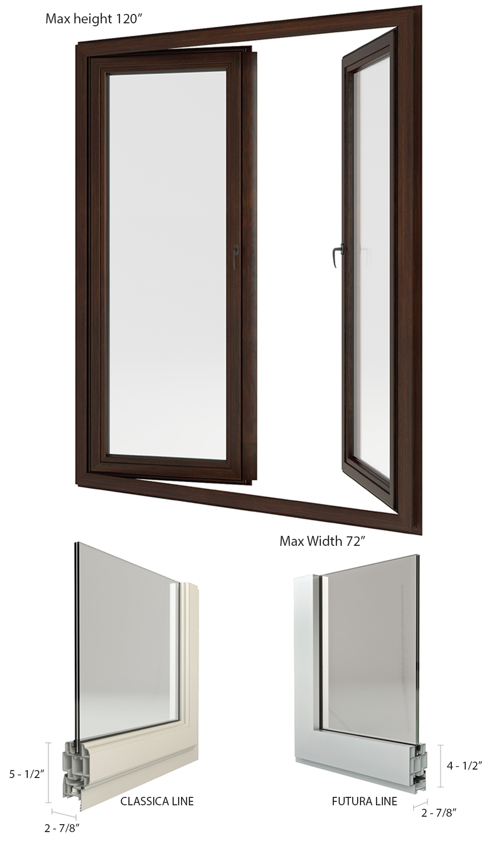 La finestra product information french doors - Architrave finestra ...
